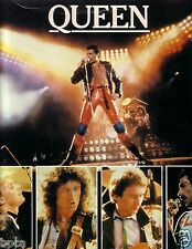 QUEEN ROCK BAND JAPAN TOUR BOOK '81 FREDDIE MERCURY BRIAN MAY ROGER TAYLOR