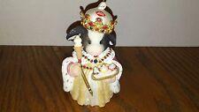 Enesco Mary Moo Moos 2001 A Royal Treat Figurine #864870 Dairy Queen