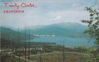 *(O)  Trinity Center, CA - Scenic Bird's Eye View of Lake and Surroundings