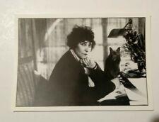 carte postale Colette l'Ecrivain et son chat