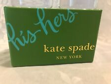 "KATE SPADE DOUBLE OLD FASHION ""HIS AND HERS"" GLASSES"