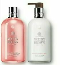Molton Brown Delicious Rhubarb & Rose Shower Gel & Lotion Gift Set 300ml