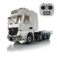 LESU Metal Tractor Truck Radio ESC Actros 3363 Roof Light RC 1/14 Hercules Cabin