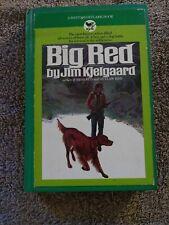 Vintage Book Jim Kjelgaard Big Red Stormy Dog Bantam Skylark Irish Setters Vgc