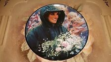"""The Franklin Mint: 8"""" Plate - Diana, Princess of Wales: THE PEOPLES PRINCESS P16"""