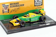 Minichamps 1/43 Schumacher Benetton B192 1st F1 win Belgian GP 25th anniversary