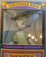 Disney Winnie The POOH Puppet CHRISTOPHER ROBIN - New in Box Marionette