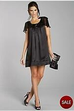 TEATRO Black Silk Sequin Dress... Size 10