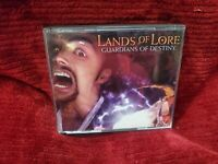 Lands of Lore: Guardians of Destiny (PC, 1997) 4 DISC + MANUAL IN A JEWEL CASE