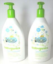 Babyganics Moisturizing Daily Baby Lotion, Fragrance Free, 17 oz. (2 Pack) New