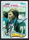 Bob Baumhower #126 signed autograph auto 1982 Topps Football Trading Card