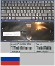 QWERTY KEYBOARD RUSSIAN HP Presario CQ40 CQ45 MP-05583SU-6983 PK1303V0200 Black