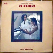 NASCIMBENE MARIO COLONNA SONORA ORIGINALE OST LO SCIALO LP 1987 MINT