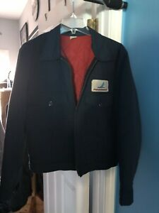 Vintage Piedmont Airlines Bomber Style Jacket (Size Medium)