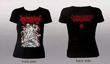 EMBRYECTOMY - Chainsaw Laceration... (M) Girlie T-Shirt Dragging Entrails Korpse