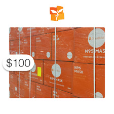 $100 Charitable Donation For: N-95 Masks for Australia Wildfire Relief