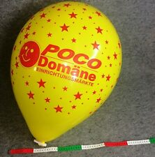 10 riesige POCO Domäne Ballons, Qualatex Q16 Luftballons, Balloons, Globos