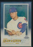2020 Topps Allen & Ginter Chrome #168 Willson Contreras Chicago Cubs