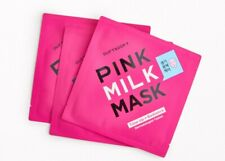 3x Duft & Doft Pink Milk Mask Tone Up + Radiance Brightening Facial Mask Sheet