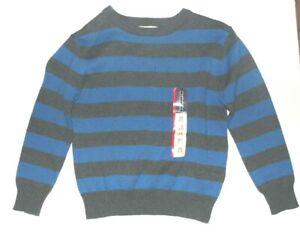 Cherokee Boys Long Sleeve Sweater Blue Gray Size XSmall 4-5 NWT