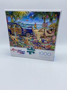 Buffalo Games 1000 Piece Puzzle Beach Vacation Jigsaw Aimee Stewart Collection