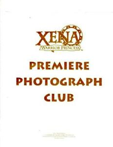 XENA WARRIOR PRINCESS 8X10 OFFICIAL CREATION 8 PHOTO CLUB SET - LOST MARINER