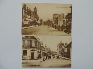 2 Vintage RP postcards of Eastleigh, Hampshire by E Ingram (PC19)