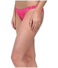Volcom Bikini Bottom Sz XS Scream Magenta Pink Swimwear Swim Bottoms 02221504