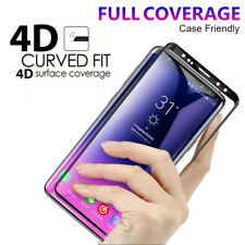 4D Tempered Glass Full Cover Screen Protector Galaxy S6 S7 edge