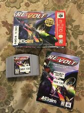 Re-Volt (Nintendo 64 n64, 1999) Complete in Box Tested !!