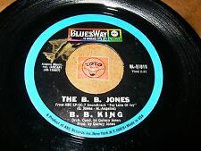 B.B KING - THE B.B. JONES - YOU PUT IN ON ME  / LISTEN / R&B
