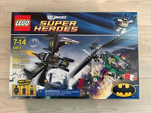 Brand New Lego DC Super Heroes Batman Batwing Battle Over Gotham City 6863 Joker