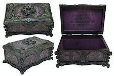 Disney Parks Haunted Mansion Jewelry Box Madame Leota Wind Up Music Box New