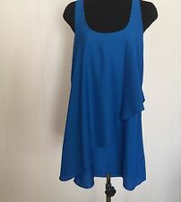 Silence + Noise Urban Outfitters Flowy Tunic Blue Size S