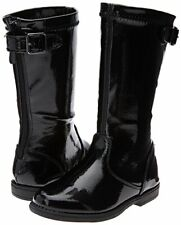 Boots Girls Black Patent Heart Treat Kenneth Cole NEW Little Girls Size 7