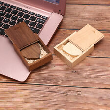 wooden Heart USB Flash Drive Pendrive 64GB 32GB 16GB 8GB U Disk Memory StickDS