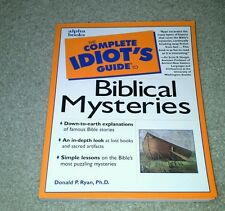 Donald D Ryan - Cig To Biblical Mysteries (2000) - Used - Trade Paper (Pape