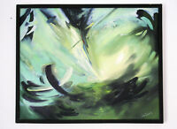 Wind Abstract Original Oil Picture Canvas Author's Technique Limited Quantity 1