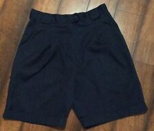 TILLEY ENDURABLES Women's Safari SHORTS Adventure Sz 16 Pleated BLUE