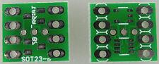 Sot23 10x SMD adaptador (adaptador placas cuanto 2xsot23-3, 1xsot23-5, 1xsot23-8)