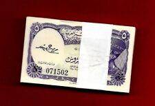 Egypt 100 bill/ 5 piaster UNC SING BY MOHAMMED SALLAH ELDIN AMMER