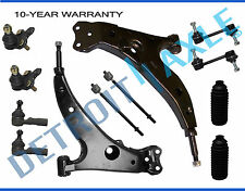 Fit 1993 1994 1995 Toyota Corolla 12pc Front Lower Control Arm Ball Joint Tierod