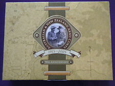 2005 Australian and New Zealand 90th ANZAC Anniv. Two Coin Set 2oz Silver,