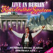 KASTELRUTHER SPATZEN : LIVE IN BERLIN / CD