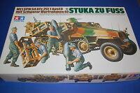"""Tamiya 35151 - Sd.Kfz. 251/1 Ausf. D """"Stuka Zu Fuss"""" scala 1/35"""