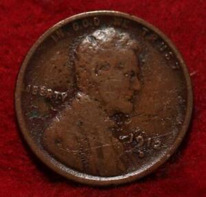 1912-D Denver Mint Copper Lincoln Wheat Cent
