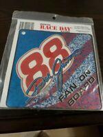 NASCAR Official Race Day Vinyl Window Wavers Dale Jarrett #88 Fan On Board