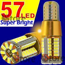 2 Lampade Led T10 Canbus Gold Style 57 SMD3014 Luci BIANCO Posizione 12V 24V 5W