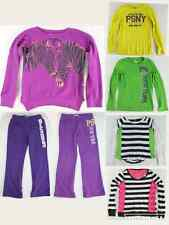 PS Aeropostale Girls Lot Size 10 1 Zebra Sweatshirt 4 Shirts 2 Purple Sweatpants