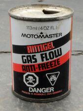 Vintage Moto-Master CTC Canadian Tire Gas Flow Anti-Freeze Can 4 oz